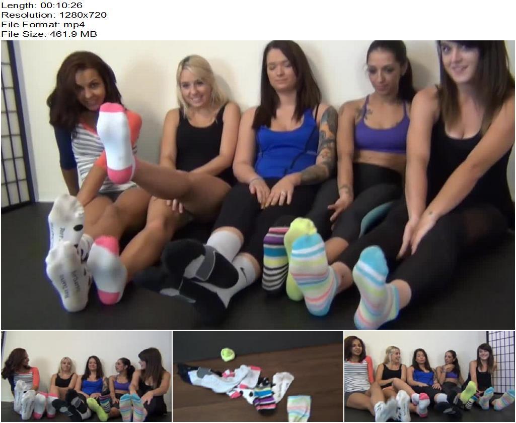 5 Girl Gym Socks preview