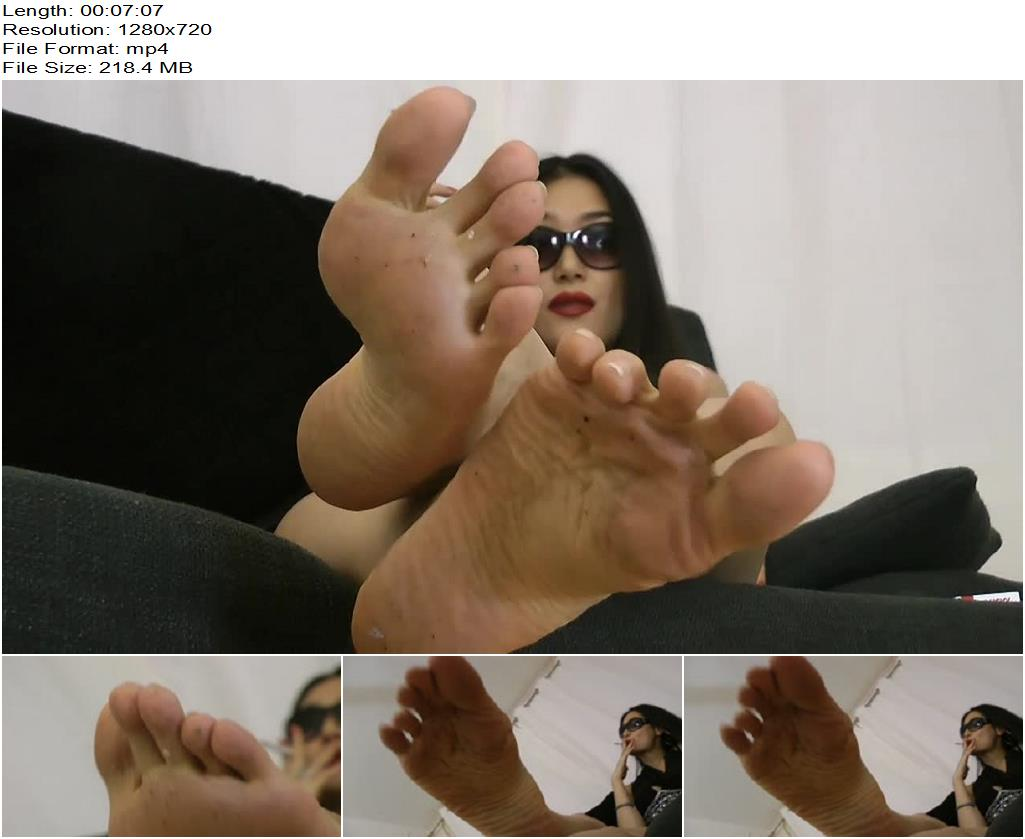 Ballerinas Flip Flops  Goddess Leyla  Be My Foot Licker preview