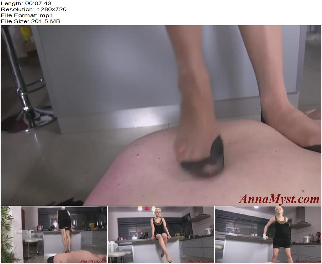 Anna Myst – Trampling Lady - Foot Domination