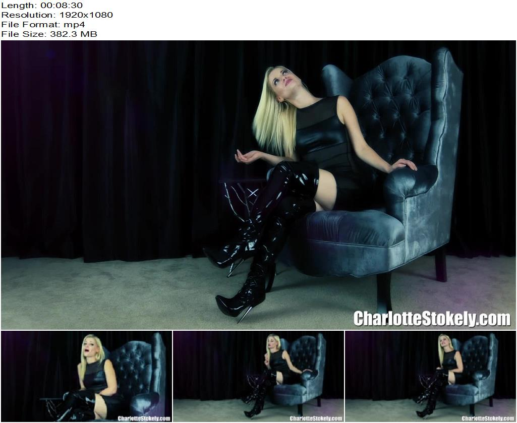 Charlotte Stokely – Beta Bed Time Routine - Instructions, Masturbation Instruction