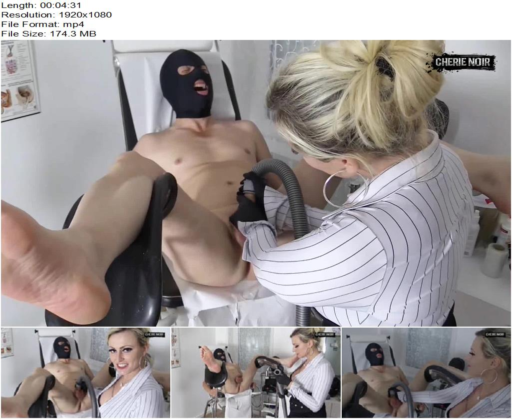 Cherie Noir – Vacuum Milking - Forced Orgasm, Forced Ejaculation