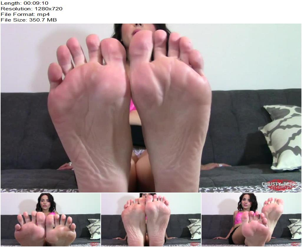 Christy Berrie  Hands Free Cum for Feet preview