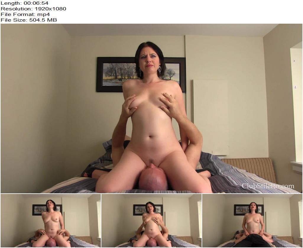 Club Stiletto FemDom – Erotic Face Sit  Starring Mistress Carmen - Pussy Licking, Face Sitting