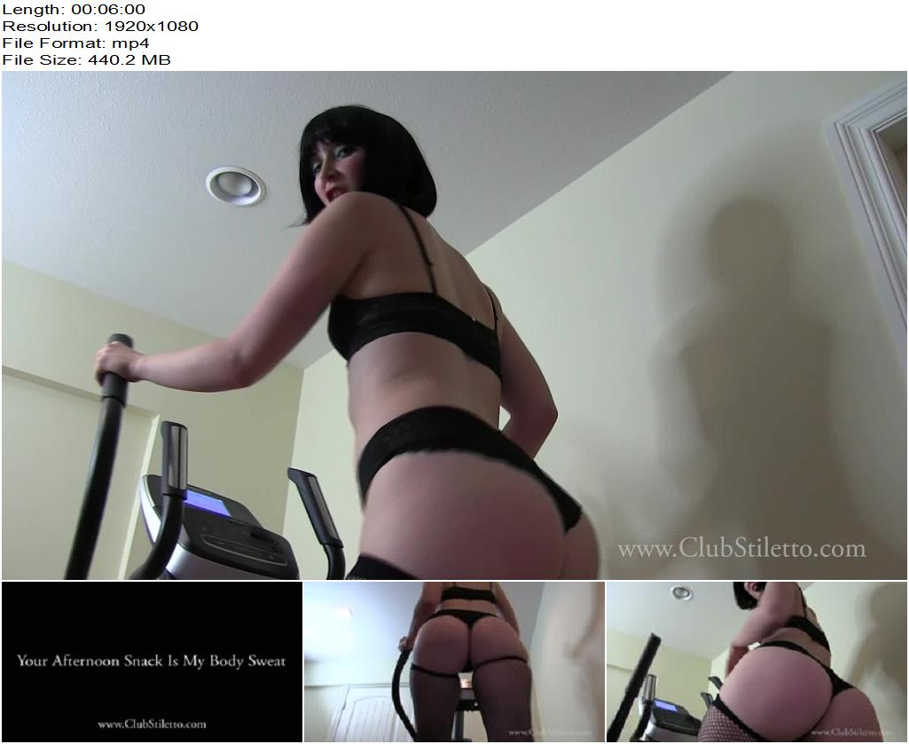 Club Stiletto FemDom – Your Afternoon Snack Is My Body Sweat -  Princess Lily  - Ass Worship, Ass Licking