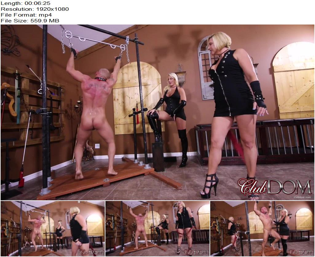 Cruel Unusual FemDom – ClubDom – Whipped Into Submission -  Paris Knight and Goddess Brianna - Foot Domination, Foot Fetish