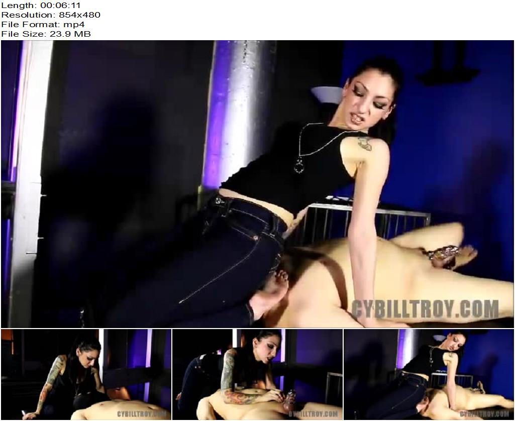 Cybill Troy FemDom Anti-Sex League – Tight Jeans Junkie - Smothering, Face Sitting