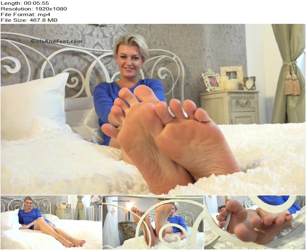 E-feet – Isabella – Sexy Feet in your face - Foot Licking, Footworship