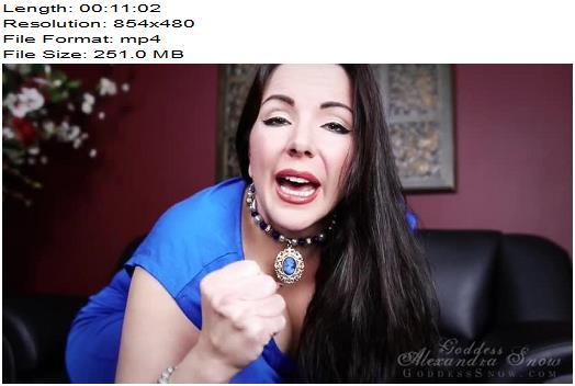 Goddess Alexandra Snow - A Month of Cock Control - Week 2 - Edging Games, Masturbation Instruction