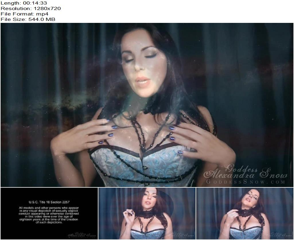 Goddess Alexandra Snow – Downward Spiral Trance - Mental Domination, Sensual Domination