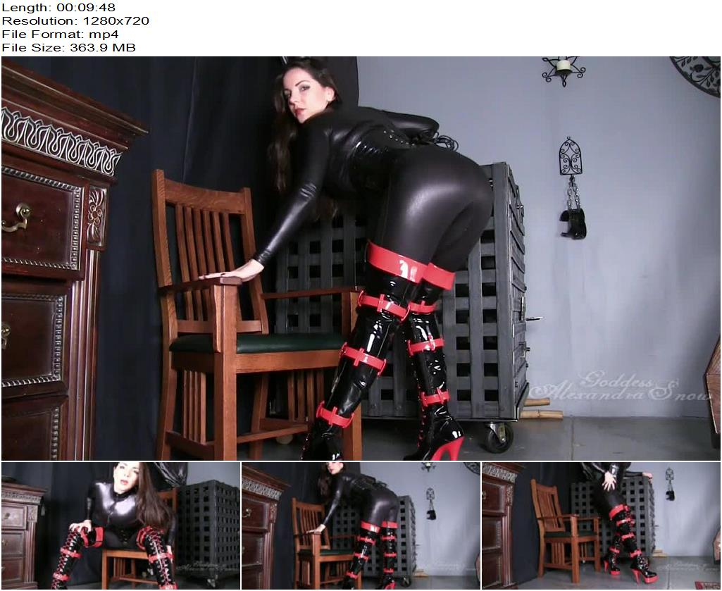 Goddess Alexandra Snow – Thigh high boots - Female Domination, Thigh Highs Boots