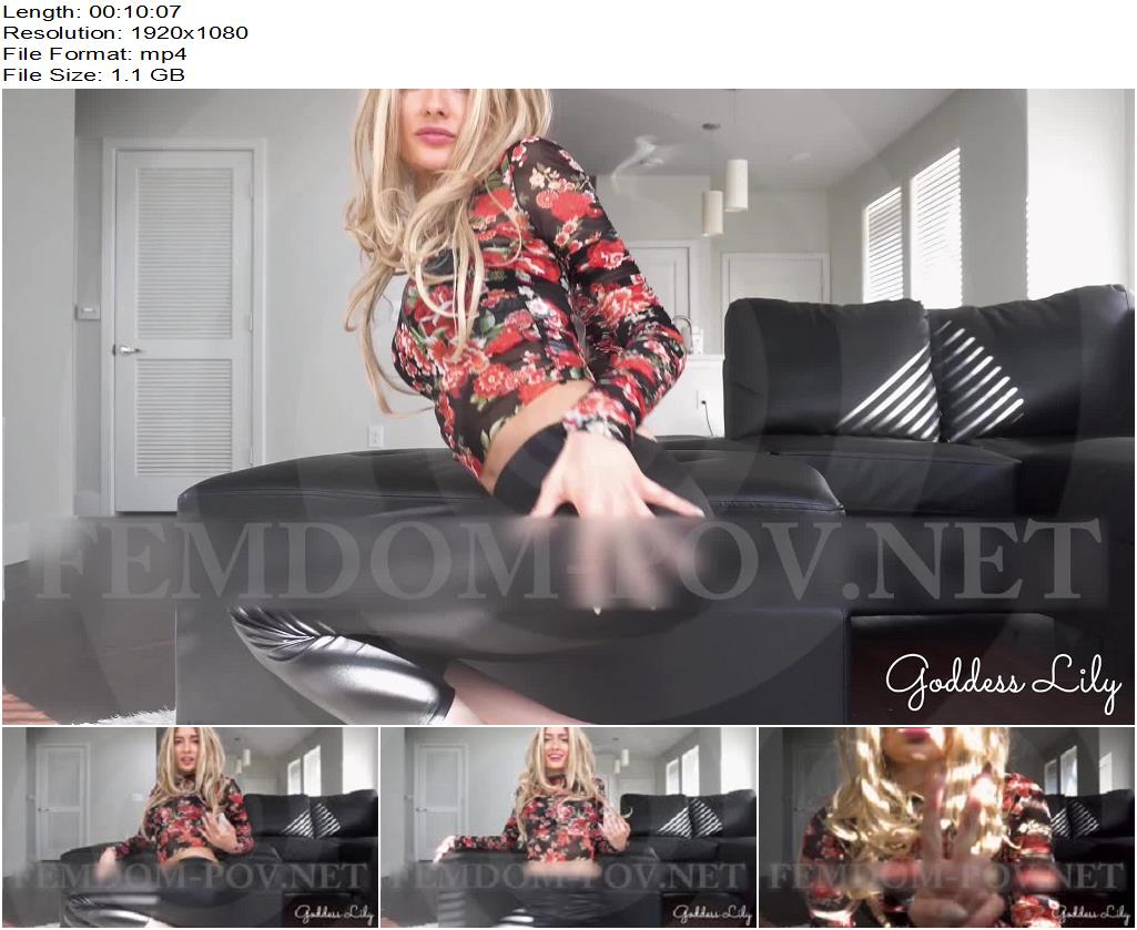 Goddess Lily – Your New Identity as Lily's Slave - Teasing, Hypnotic