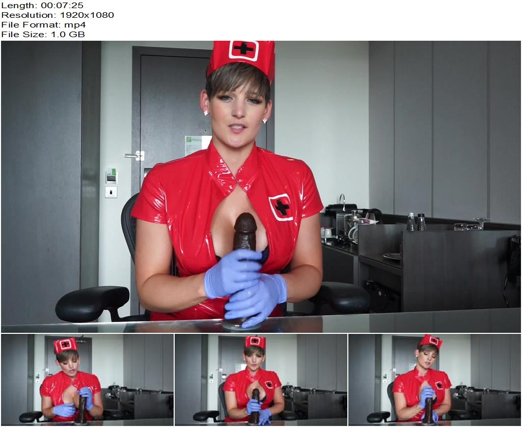 Hannah Brooks – Nurse Brooks is ready for your sample XX - Nurse Play, Handjob