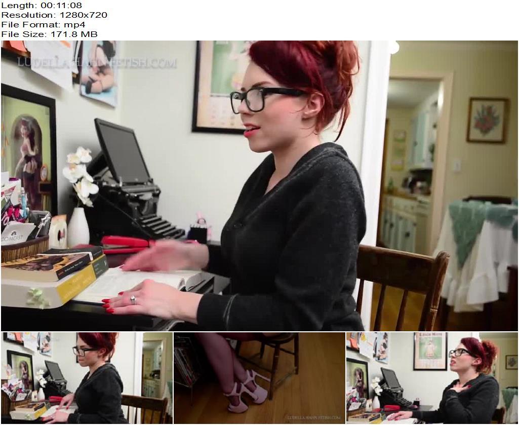 Ludella Hahn Fetish – Ludella Hahn – She-Mask 3: Hot for Tutor Nerd to Babe Transformation - Nerdy Girl, POV