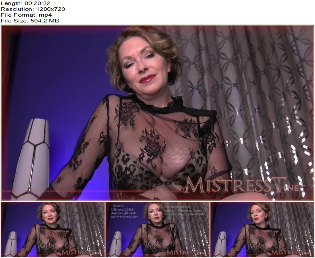 Mistress T – Chastity Instructions – Interactive! - Orgasm Control, Male Cum Swallowers
