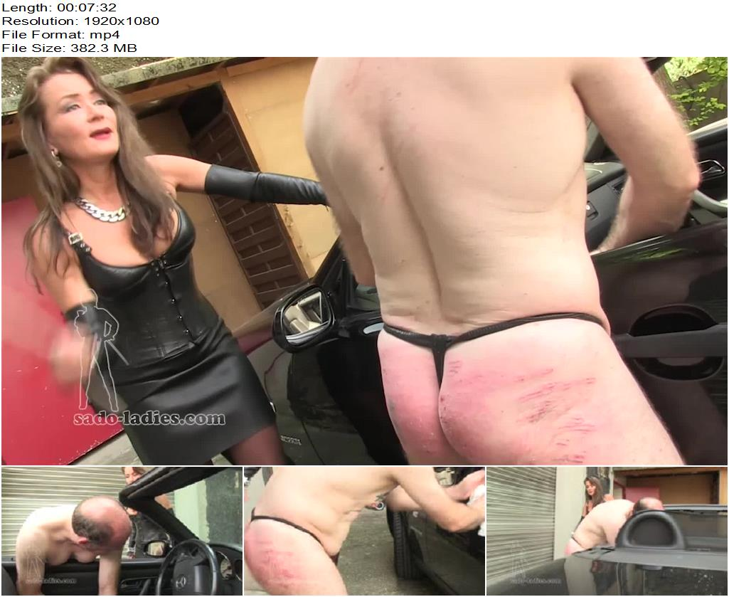 SADO LADIES Femdom Clips – Immediate Caning -  Lady Pascal - Female Domination, Bdsm