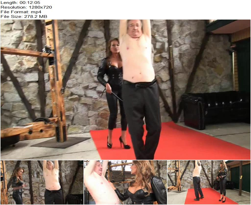 SADO LADIES Femdom Clips – Punished For Blasphemy 1 -  Lady Pascal - Whip, German Pro Dom