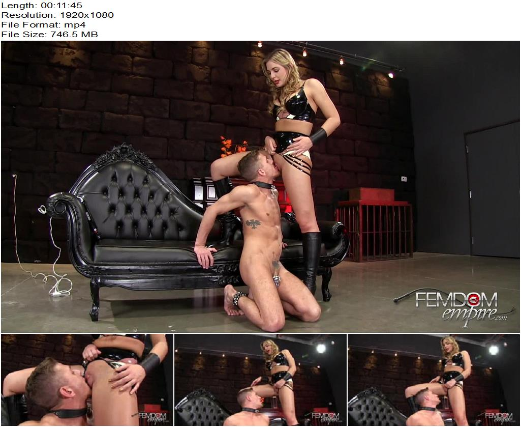 VICIOUS FEMDOM EMPIRE – Amazon Pussy Service  Starring Mistress Blair - Finger Fucking, Oral Servitude