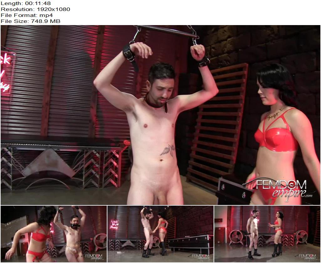 VICIOUS FEMDOM EMPIRE – Kristina's Cruel Ballbusting Game  Starring Mistress Kristina Rose - Cbt, Female Domination