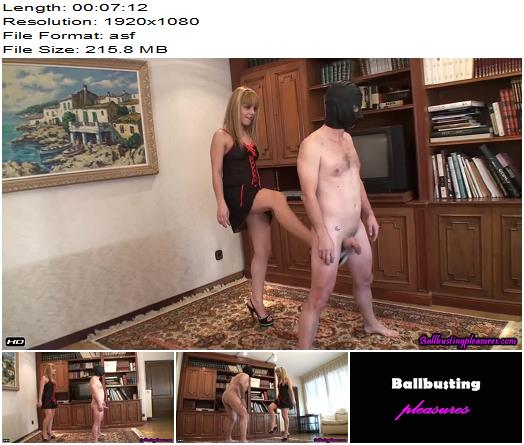 Ballbusting Pleasures – Two Balls are Insufficient – Jacqueline - Balls Busting, Femdom