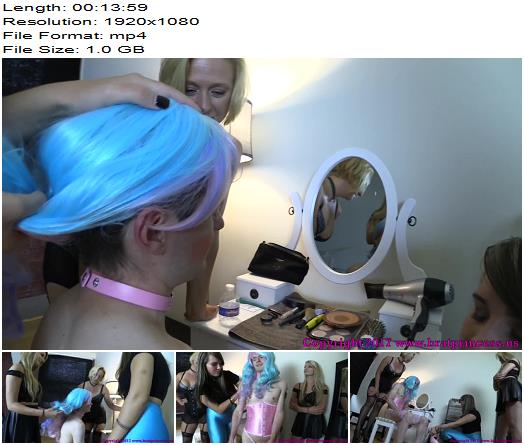 Brat Princess 2 – BP – Sister And Friend Turn Brother Into Sissy With Help From Mother (1080 HD) - Cock Locked, Humiliation