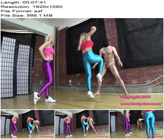 Brat Princess 2 – Cali and Kenzie – West Coast Ballbusting Practice (1080 HD) - Balls Busting, Kenzie Taylor