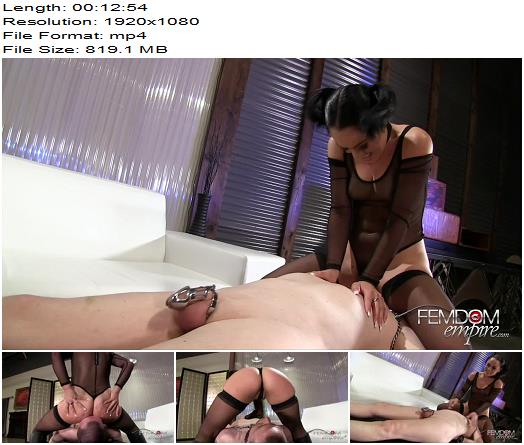 Chastity Nightmares – Kristina Rose - Mistress, Ass Licking