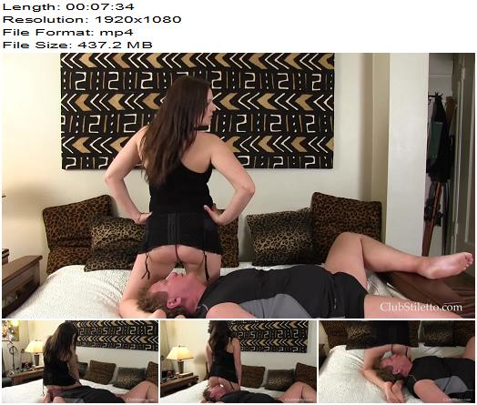 Club Stiletto – Princess Britney – Between Her Legs and Ass - Femdom, Female Domination