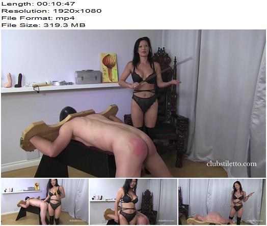 Clubstiletto – Miss Jasmine – How to Break a Slave - Bondage Male, Corporal Punishment