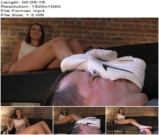 Dreamgirls in Socks – Felicia's Human Footstool - Foot Humiliation, Degradation