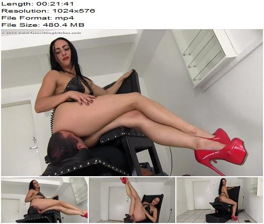Facesitting Bitches – FB1269 – Chloe – The Smother Press - Female Domination, Face Sit