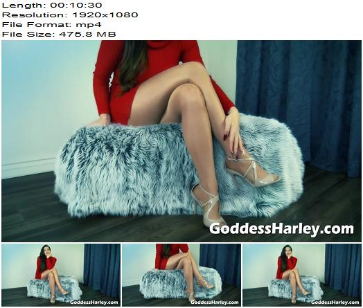 Goddess Harley – Auntie Knows Your Secret - Footlicking, Footworship