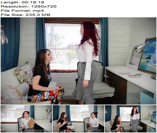 Ludella Hahns Fetish Adventures – Ludella Hahn, Terra Mizu – Accidental Entrancement: Therapist Becomes a Puppet for Her Patients - Lesbian Domination, Woman Following Orders