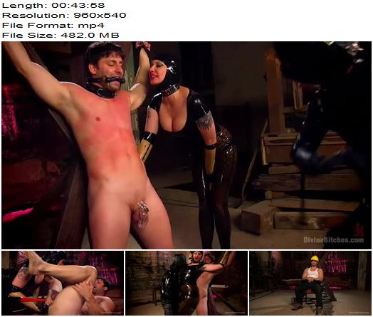 Maitresse Madeline Marlowe, Rick Fantana and Tommy Pistol - Female Domination, Chastity