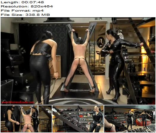 Mistress Ezada Sinn – The beginning of a beautiful friendship - Female Supremacy, Whipping