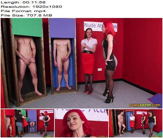 Purecfnm – Holly Kiss, Jesse Jayne, Roxi Keogh – Nude Attraction - Female Domination, Male Orgasm