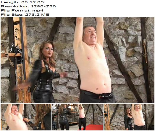 SADO LADIES Femdom Clips – Punished For Blasphemy 1 – Lady Pascal - Female Domination, Whipped