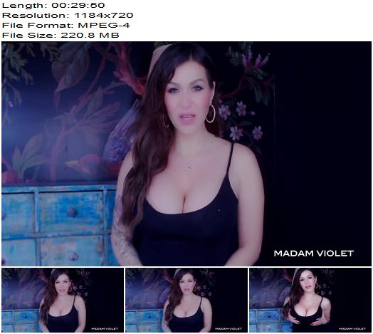 Madam Violet – Complete in your Surrender - Deep Trance, Mind Fuck