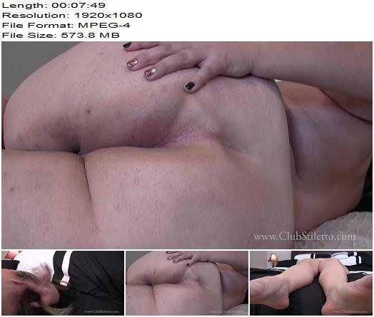 ClubStiletto – Goddess Jewels Will Train You To Be Her 24/7 Lick All The Sweat From My Body - Chubby, Assworship