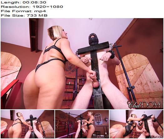ClubDom – Goddess Kate England milks your slut stick - CBT, Female Domination