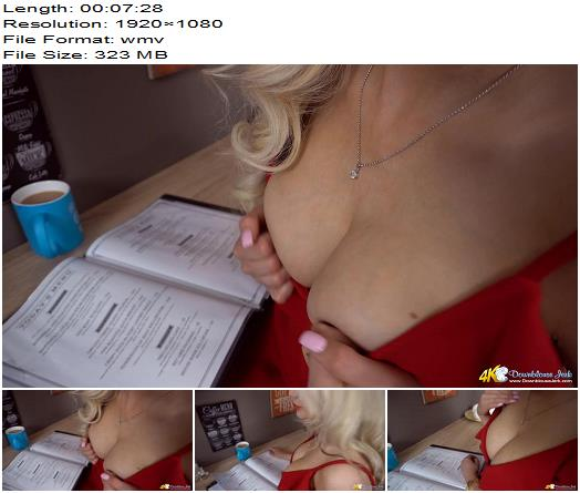 DownBlouse Jerk – Wanking pest - Enhanced Tits, Cleavage