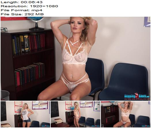 BoppingBabes – Ashley Jayne – Student Stress Relief - Medium Natural Breasts, Bouncy Breasts