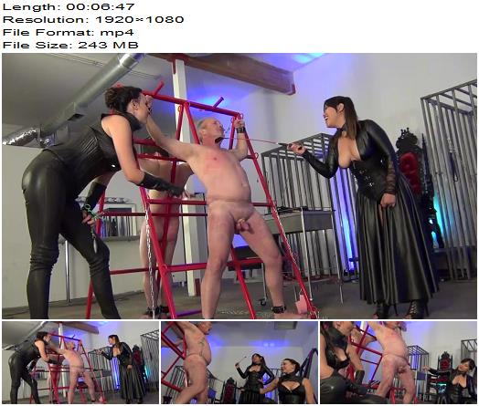 Asian Cruelty – TWO TIMES THE PAIN! Starring Astro Domina and Stella Liberty  - Submissive Slave Training, Beatdowns