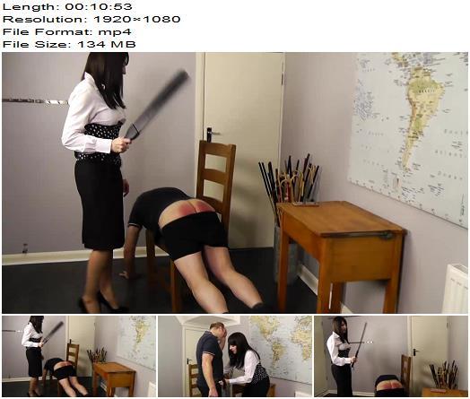 Miss Jessica's Punishments UK – Staff meeting - Spanking, Female Domination