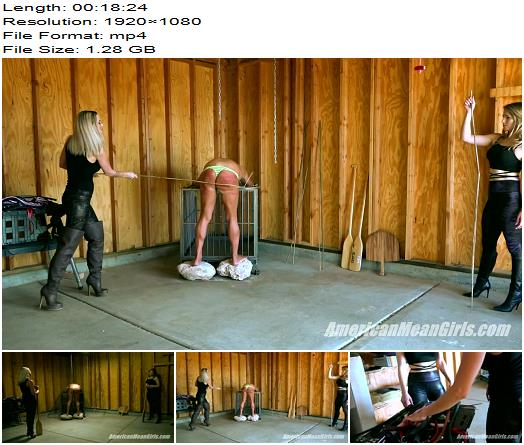 The Mean Girls – Goddess Platinum, Princess Amber – Slave On The Rocks-Part 1 With Princess Amber (1080 HD) - Spanked, MiamiMeanGirls