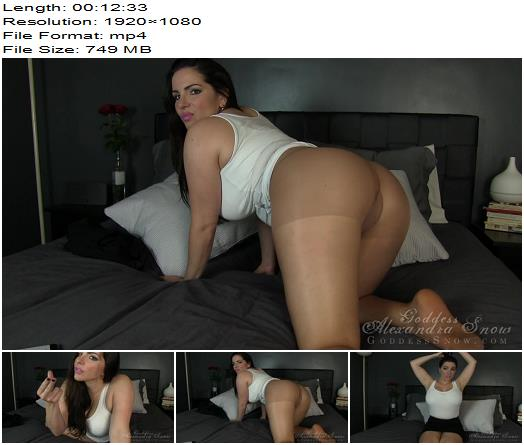 Goddess Alexandra Snow - Another Amazing Tabata Workout - Orgasm Control, Masturbation Instruction