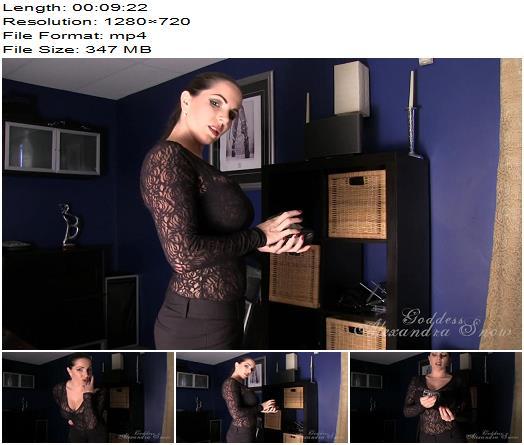 Goddess Alexandra Snow - Keyholding Primer - Assignments, Chastity