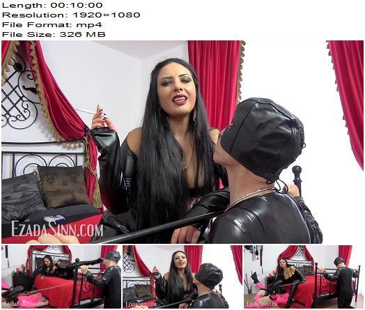 Mistress Ezada Sinn – Two Chattels Different Training – Human Ashtray - Bootlicking, Cock Locked