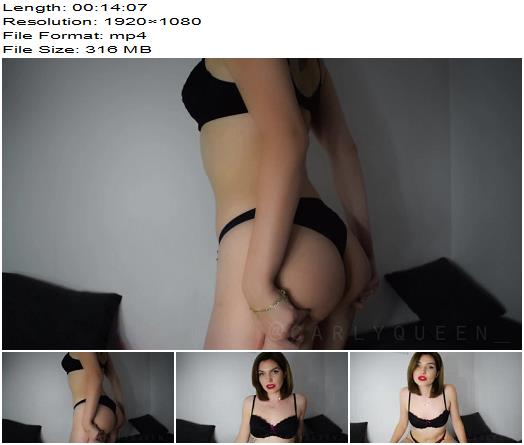 Carly Queen – Sniff Poppers And Lick Your Cum - Jerkoff Commands, Hypno