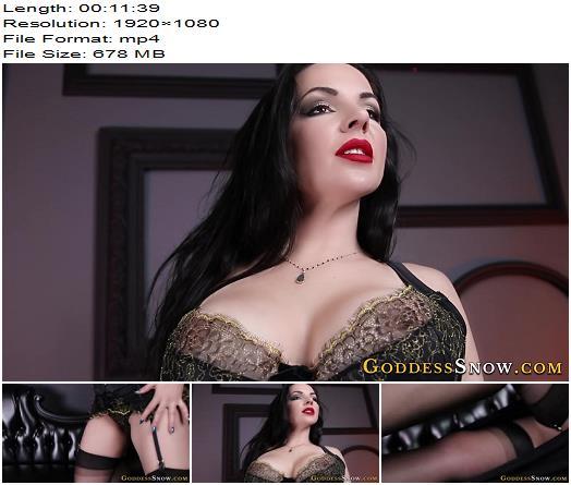 Goddess Alexandra Snow – Worship Me, Slave - Ass Fetish, Goddess Snow