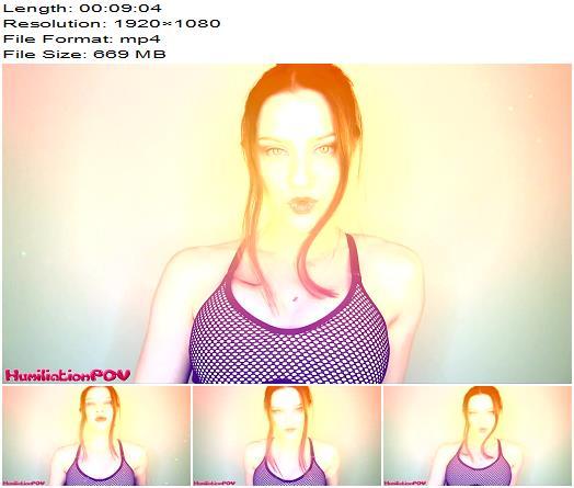 HumiliationPOV – Mindless Masturbator Trance For Brainless Gooners - Hypnotic, JOI